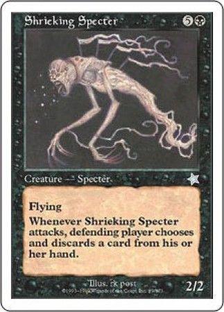 MTG S99 Shrieking Specter 金切り声の死霊 数量2 引退 多数出品中 5種送料無料_画像1