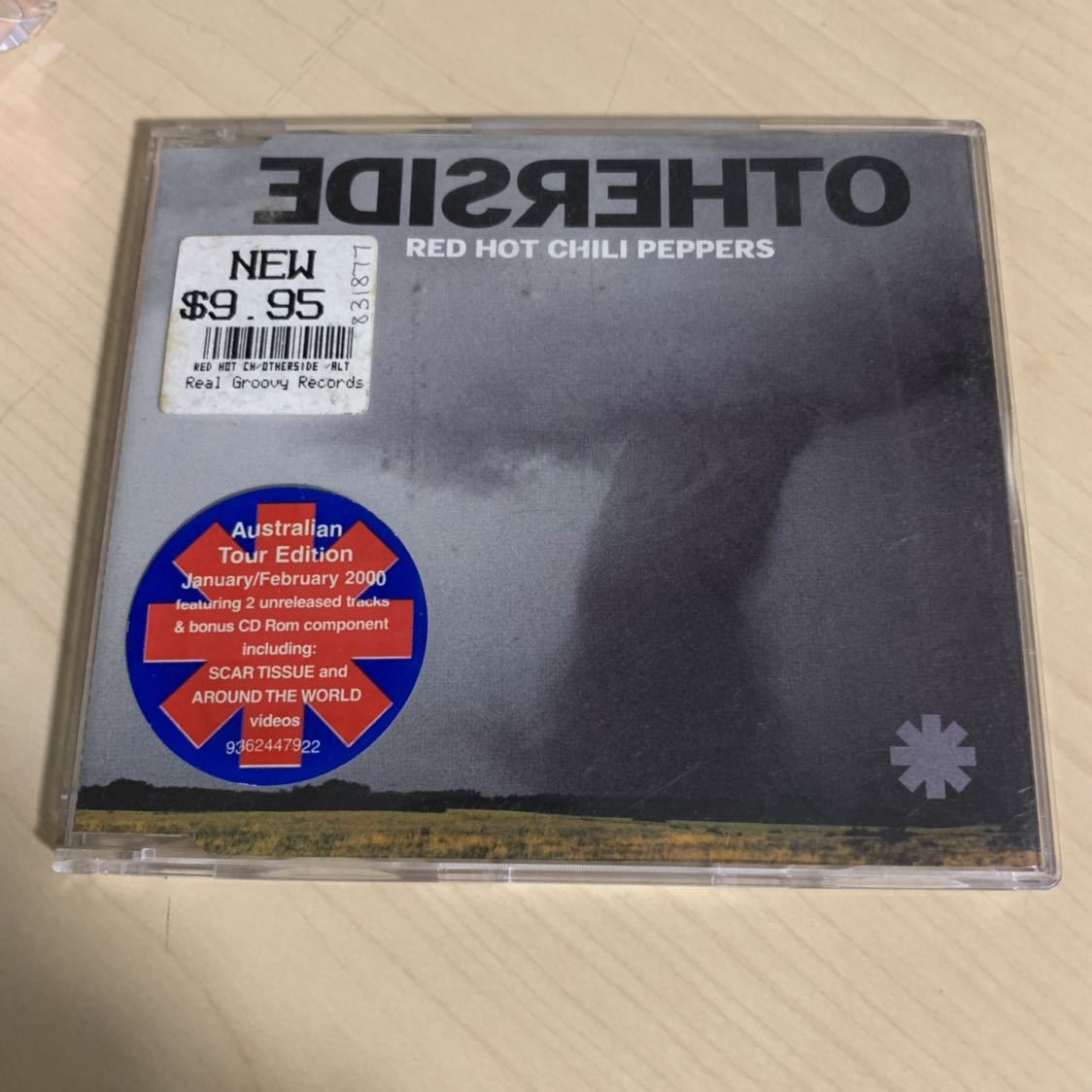 OTHERSIDE RED HOT CHILI PEPPERS レッチリ レッド ホット チリ ペッパーズ シングルCD アザーサイド 海外盤_画像1