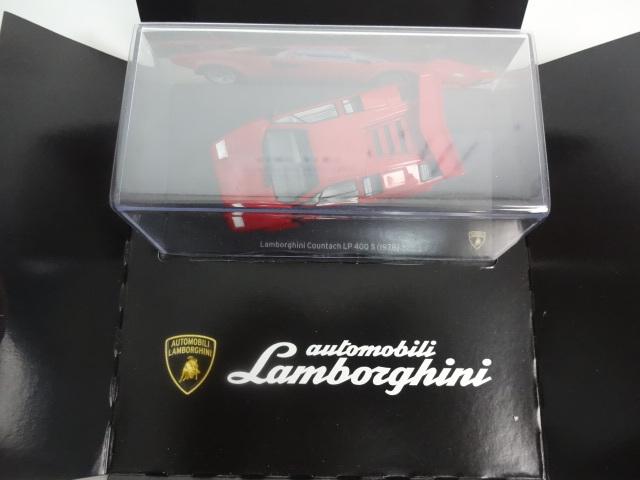 U53 HACHETTE アシェット・コレクションズ・ジャパン Lamborghini Collection COUNTACH LP 400S 1/43スケール_画像4