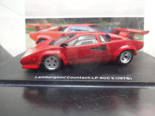 U53 HACHETTE アシェット・コレクションズ・ジャパン Lamborghini Collection COUNTACH LP 400S 1/43スケール_画像5