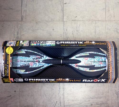 ラングス ジャパン キャスターボード リップスティック デラックス ミニ ピース 最上位機種 RazorX ブレイブボード スケートボード