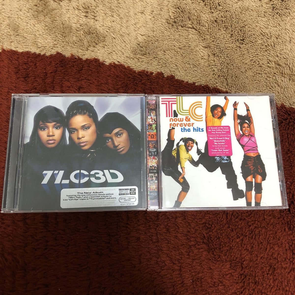 TLC アルバム2枚セット 3D now & forever the hits