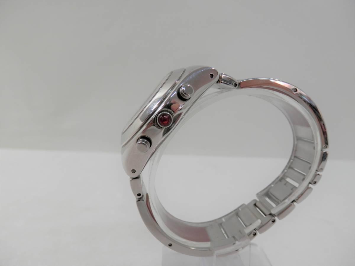 稼働品 swatch スウォッチ IRONY chrono アイロニー クロノ AG2000 レディース 腕時計 クォーツ_画像5