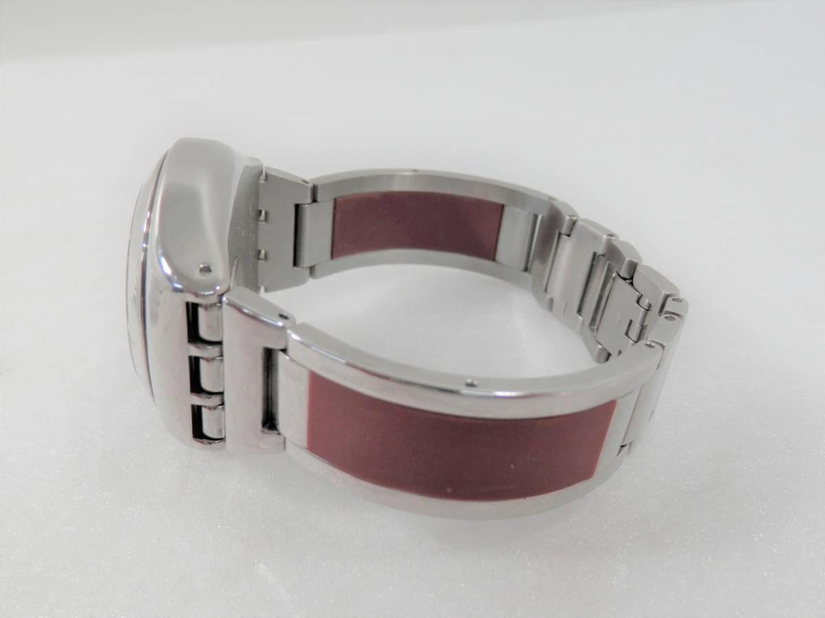 稼働品 swatch スウォッチ IRONY chrono アイロニー クロノ AG2000 レディース 腕時計 クォーツ_画像9