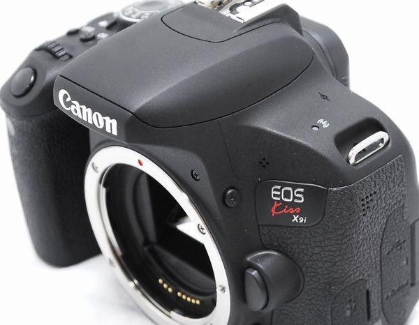 【超美品・メーカー保証書 付属品完備】Canon キヤノン EOS Kiss X9i_画像4