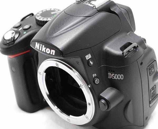【極上美品 5177ショット・豪華セット】Nikon ニコン D5000 AF-S 18-55mm VR_画像5