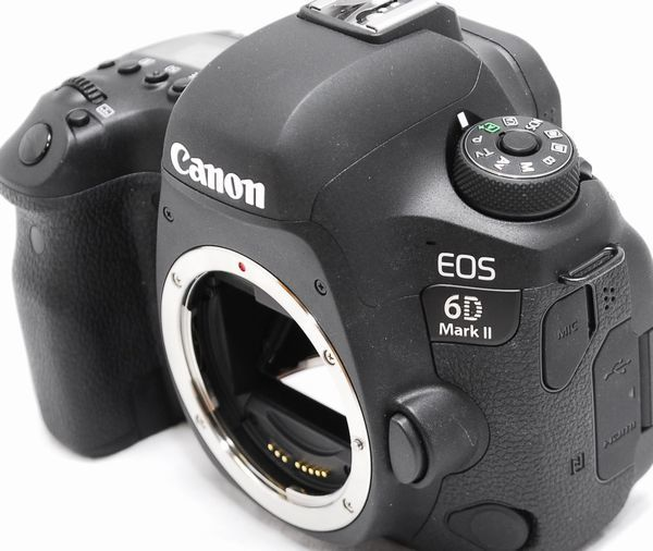 【超美品・メーカー保証書等完備】Canon キヤノン EOS 6D Mark Ⅱ マーク2_画像4