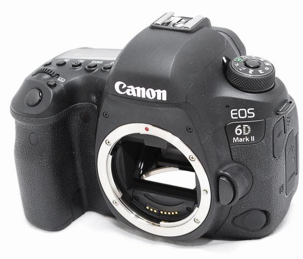 【超美品・メーカー保証書等完備】Canon キヤノン EOS 6D Mark Ⅱ マーク2_画像2
