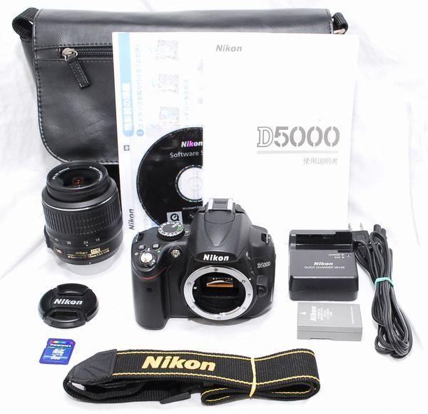 【極上美品 5177ショット・豪華セット】Nikon ニコン D5000 AF-S 18-55mm VR
