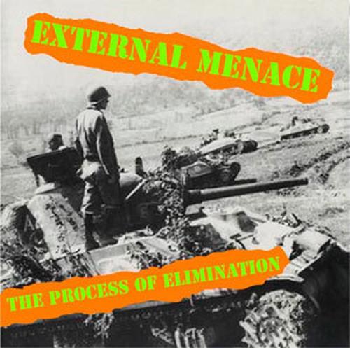 ※新品CD EXTERNAL MENACE/THE PROCESS OF ELIMINATION 2016年再発盤音源集 U.K PUNK ROCK INFA RIOT ABRASIVE WHEELS PARTISANS ADICTS_画像1