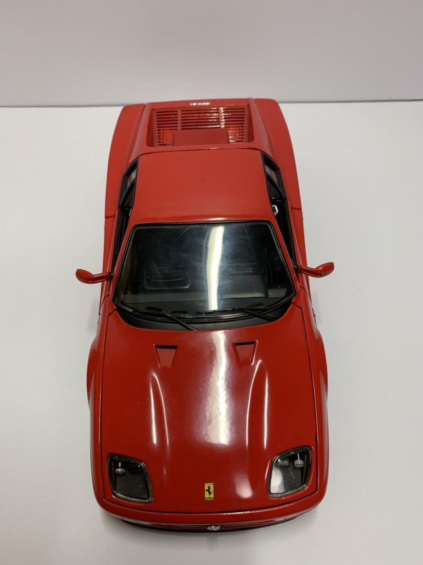 値下げ MATTEL マテル Hot Wheel ホットウィール 1/18 フェラーリF512M テスタロッサ レッド 送料無料_画像5