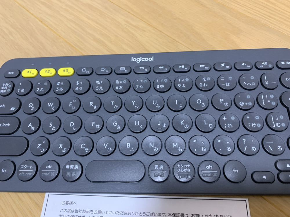 logicool ロジクール Bluetooth ワイヤレスキーボード K380 Microsoft Wireless Mobile Mouse 3500 マイクロソフト マウス セット!_画像3