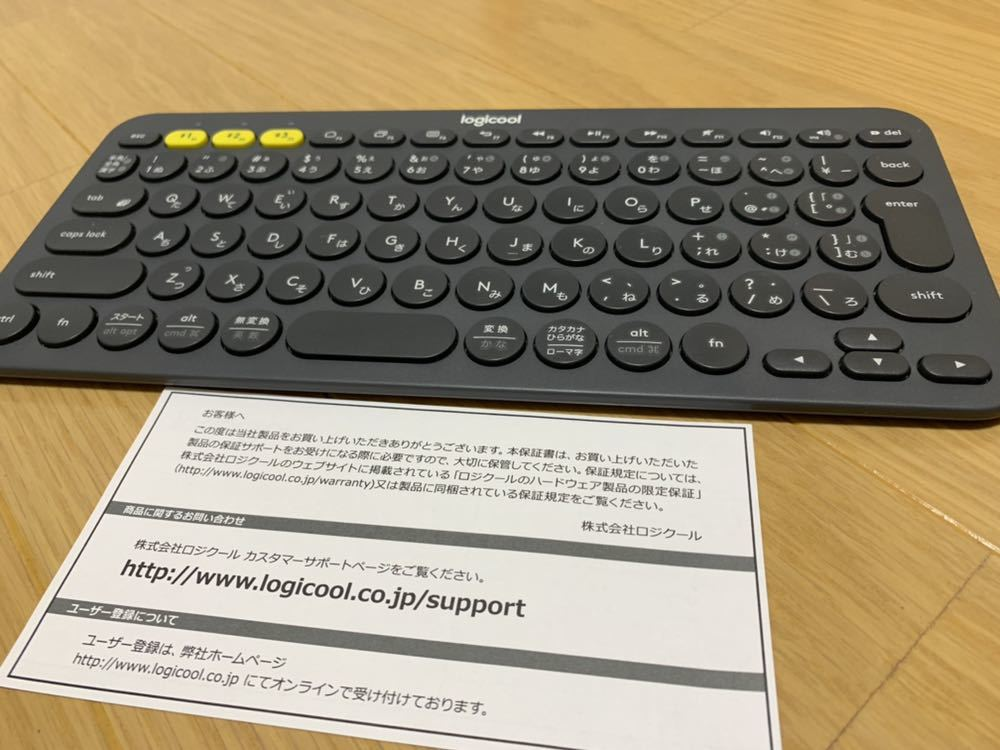 logicool ロジクール Bluetooth ワイヤレスキーボード K380 Microsoft Wireless Mobile Mouse 3500 マイクロソフト マウス セット!_画像2