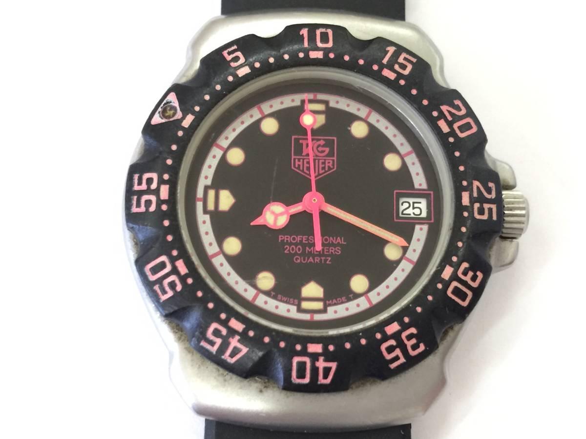 TAG HEUER タグホイヤー フォーミュラ プロフェッショナル 200M クォーツ 腕時計 WA1217 ジャンク