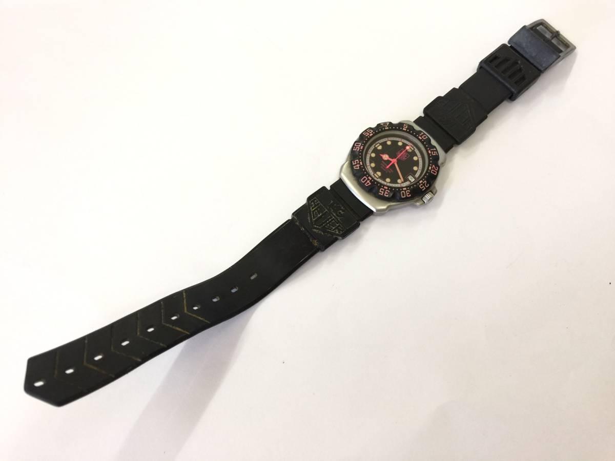 TAG HEUER タグホイヤー フォーミュラ プロフェッショナル 200M クォーツ 腕時計 WA1217 ジャンク _画像2