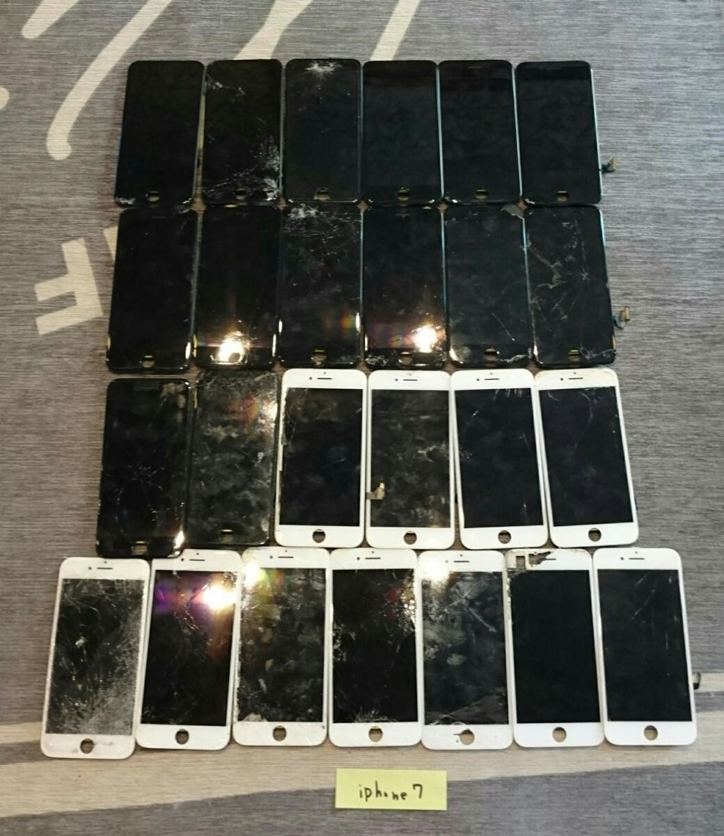 iPhone8/7Plus/7/6sPlus/6s/6Plus/6用液晶パネル113枚ジャンク品まとめ売りセット_画像4