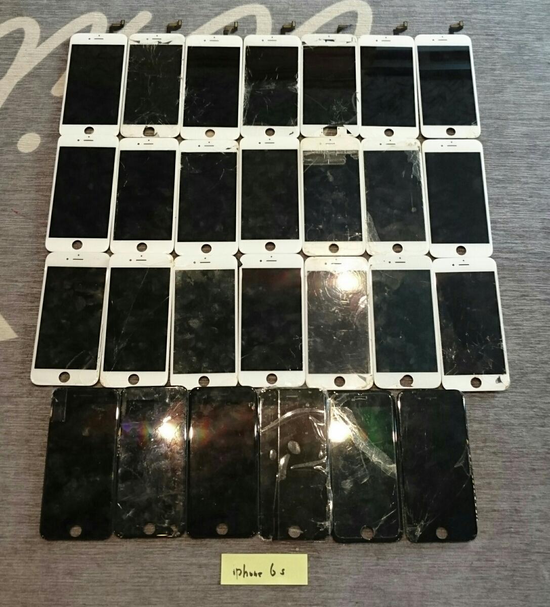 iPhone8/7Plus/7/6sPlus/6s/6Plus/6用液晶パネル113枚ジャンク品まとめ売りセット_画像6