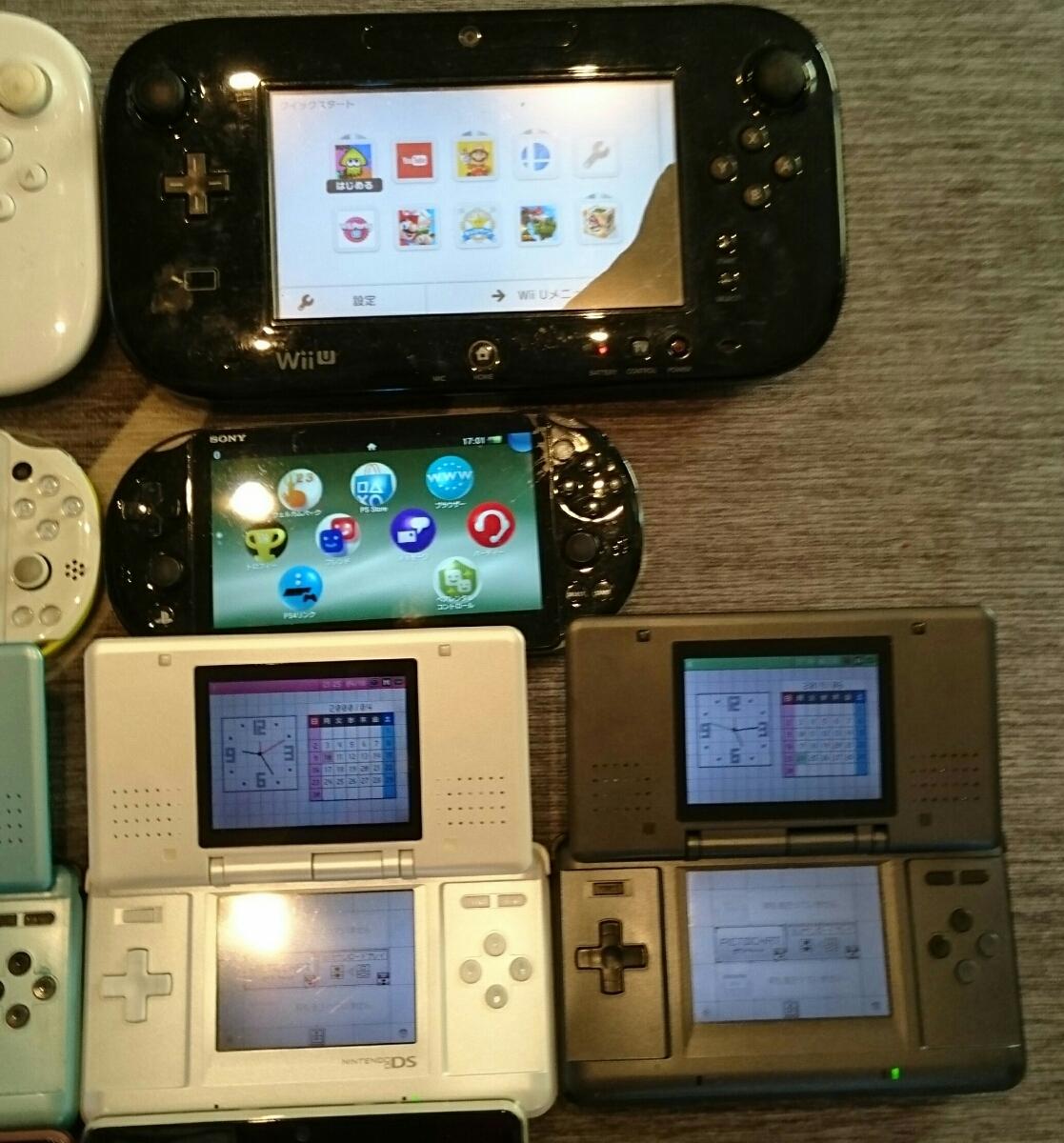 任天堂3DS/DS/PSVITA/WiiUパッド本体a13台ジャンク品まとめ売りセット起動品_画像3