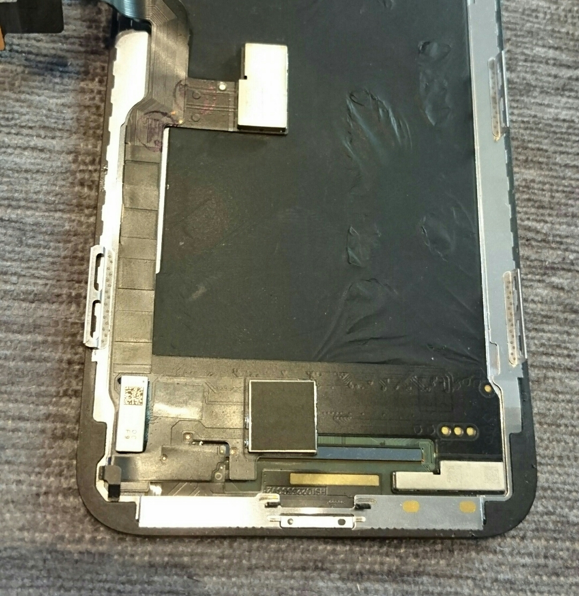 iPhoneX用有機EL(OLED)液晶パネル5枚ジャンク品まとめ売りセット iPhone X_画像6
