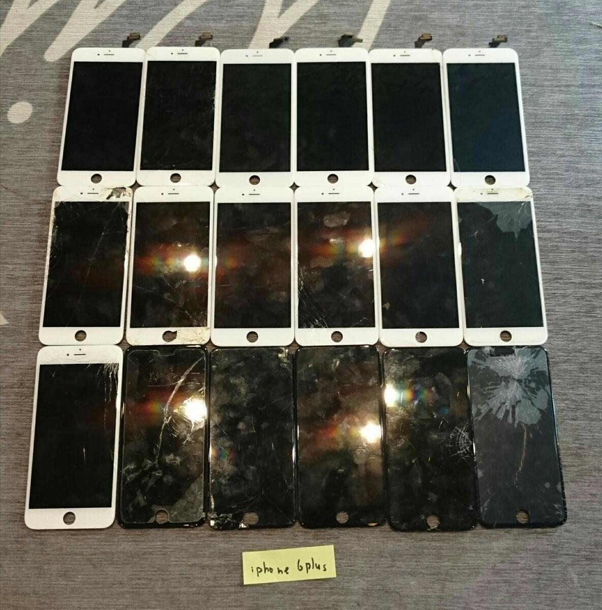 iPhone8/7Plus/7/6sPlus/6s/6Plus/6用液晶パネル113枚ジャンク品まとめ売りセット_画像7