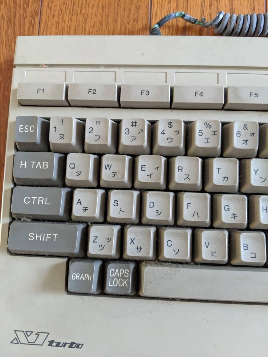 SHARP キーボード X1 turbo 希少!_画像2