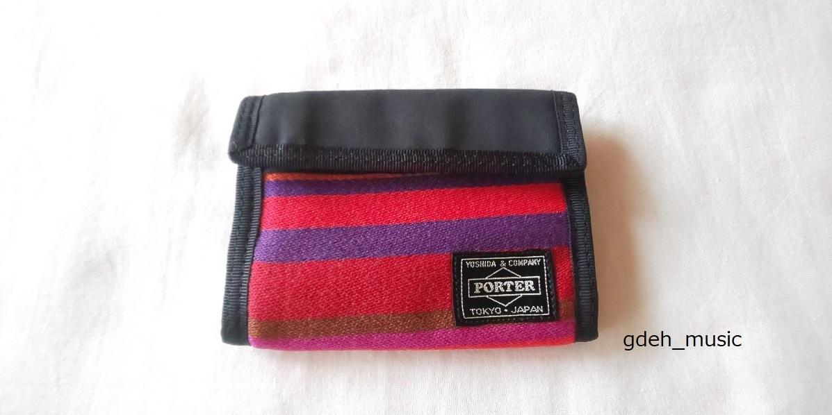 G1950 X PORTER ジェラルド 財布 黒(GOODENOUGH)