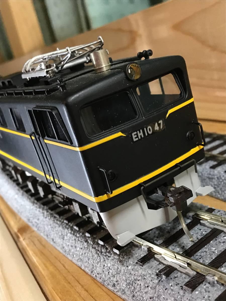 HO中古..京都模型..国鉄EH10形....車体状態まあまあ.....動作不調..2モーター動きます。前照灯点灯します。