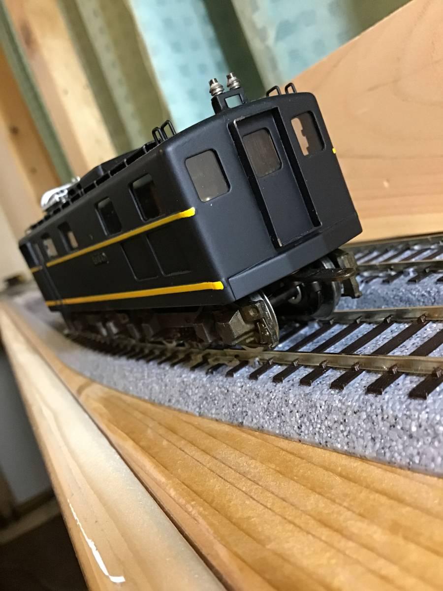 HO中古..京都模型..国鉄EH10形....車体状態まあまあ.....動作不調..2モーター動きます。前照灯点灯します。_画像9