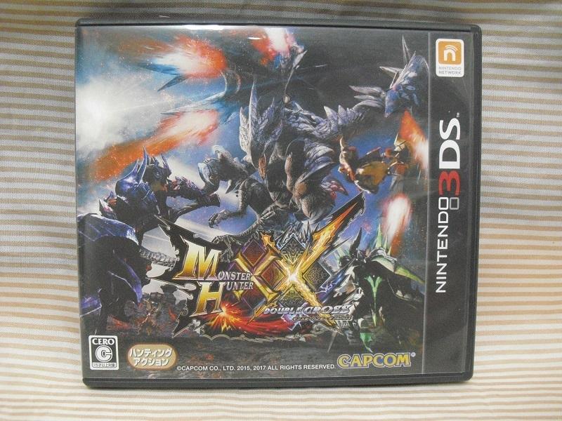 ニンテンドー 3DS ★ モンスターハンター ダブルクロス XX ★1円スタート