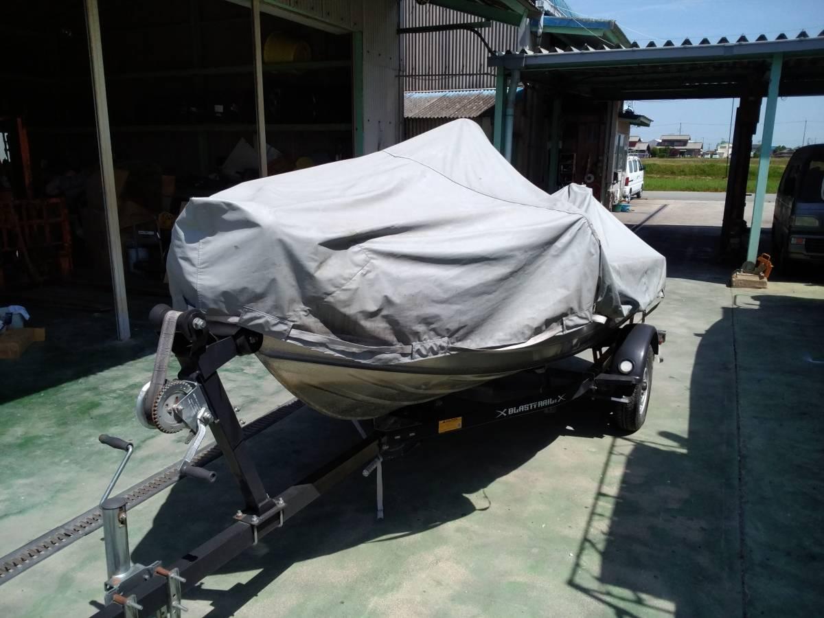 バスボート クイントレックス V12 BLAST,TRAILトレーラー付き