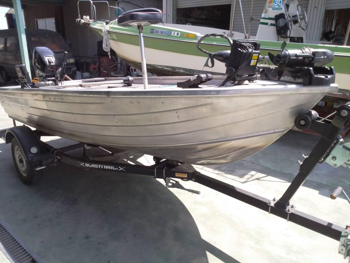 バスボート クイントレックス V12 BLAST,TRAILトレーラー付き_画像3