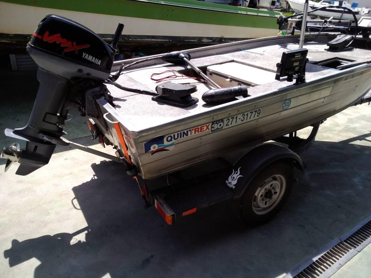 バスボート クイントレックス V12 BLAST,TRAILトレーラー付き_画像10