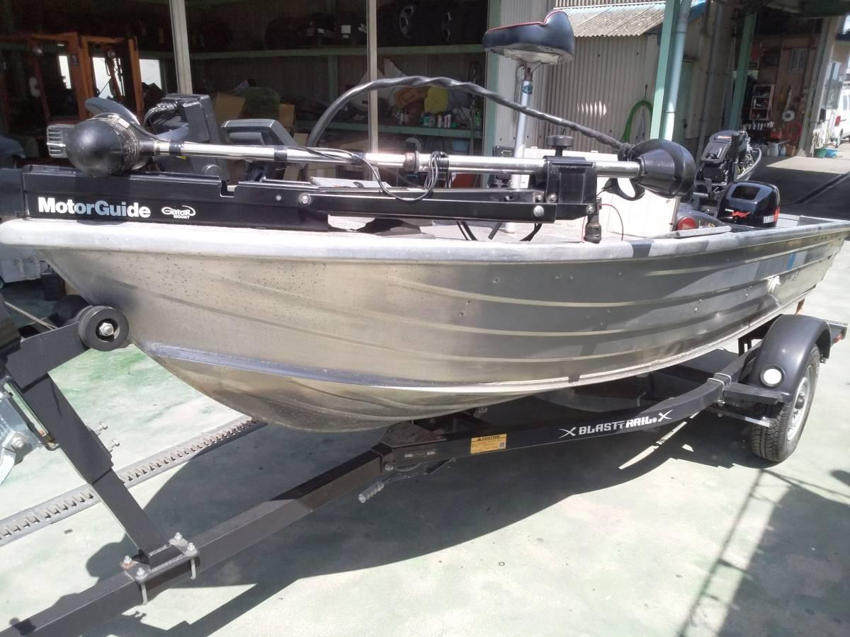 バスボート クイントレックス V12 BLAST,TRAILトレーラー付き_画像8