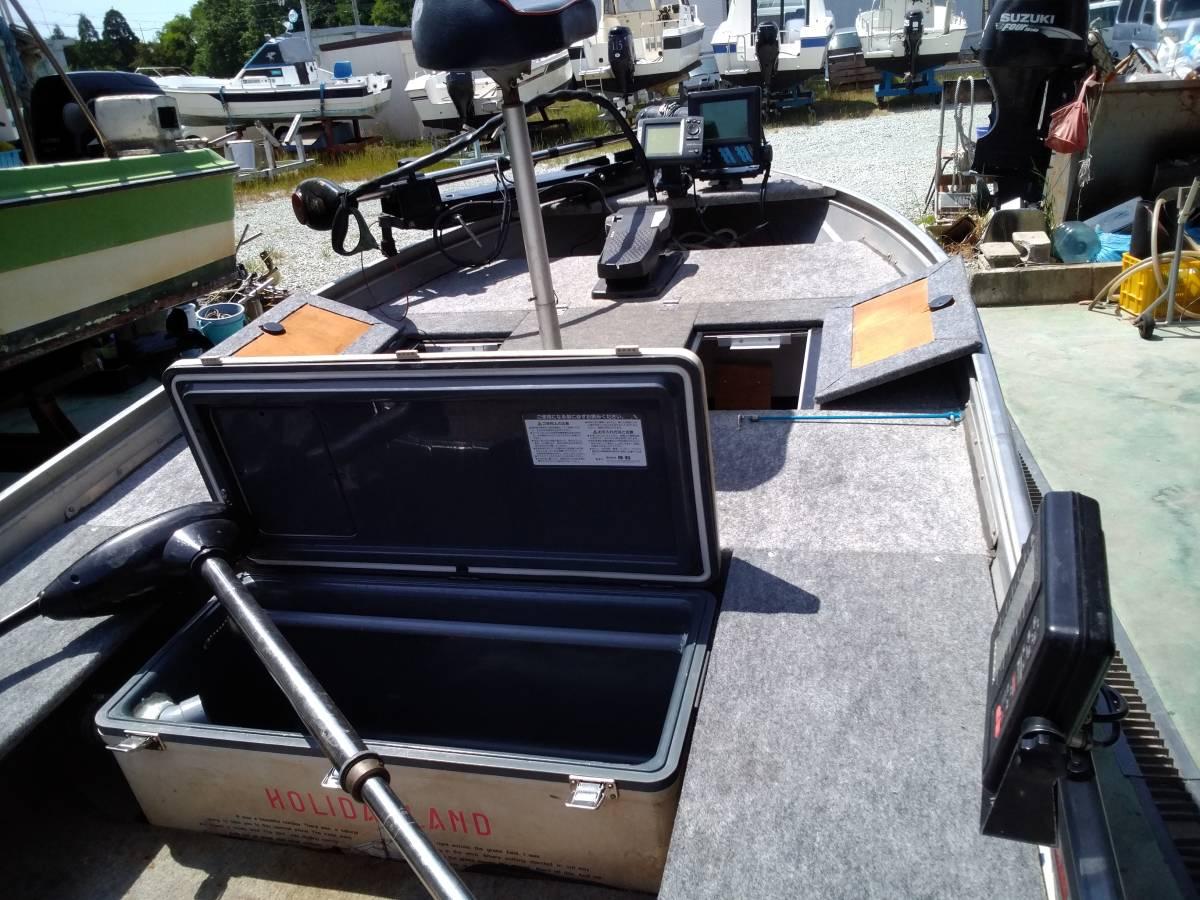 バスボート クイントレックス V12 BLAST,TRAILトレーラー付き_画像7