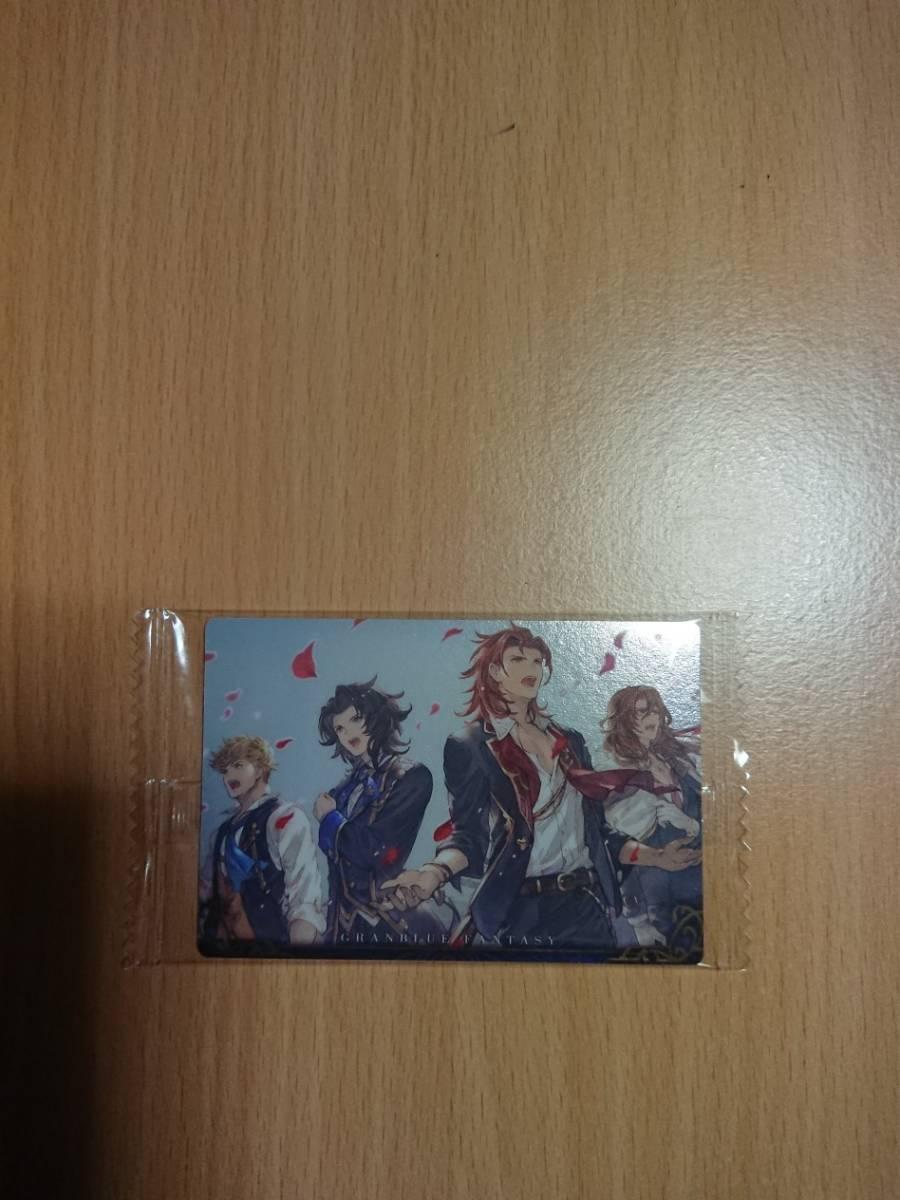 グランブルーファンタジーウエハース2 ミュージックビデオカード No17_画像3