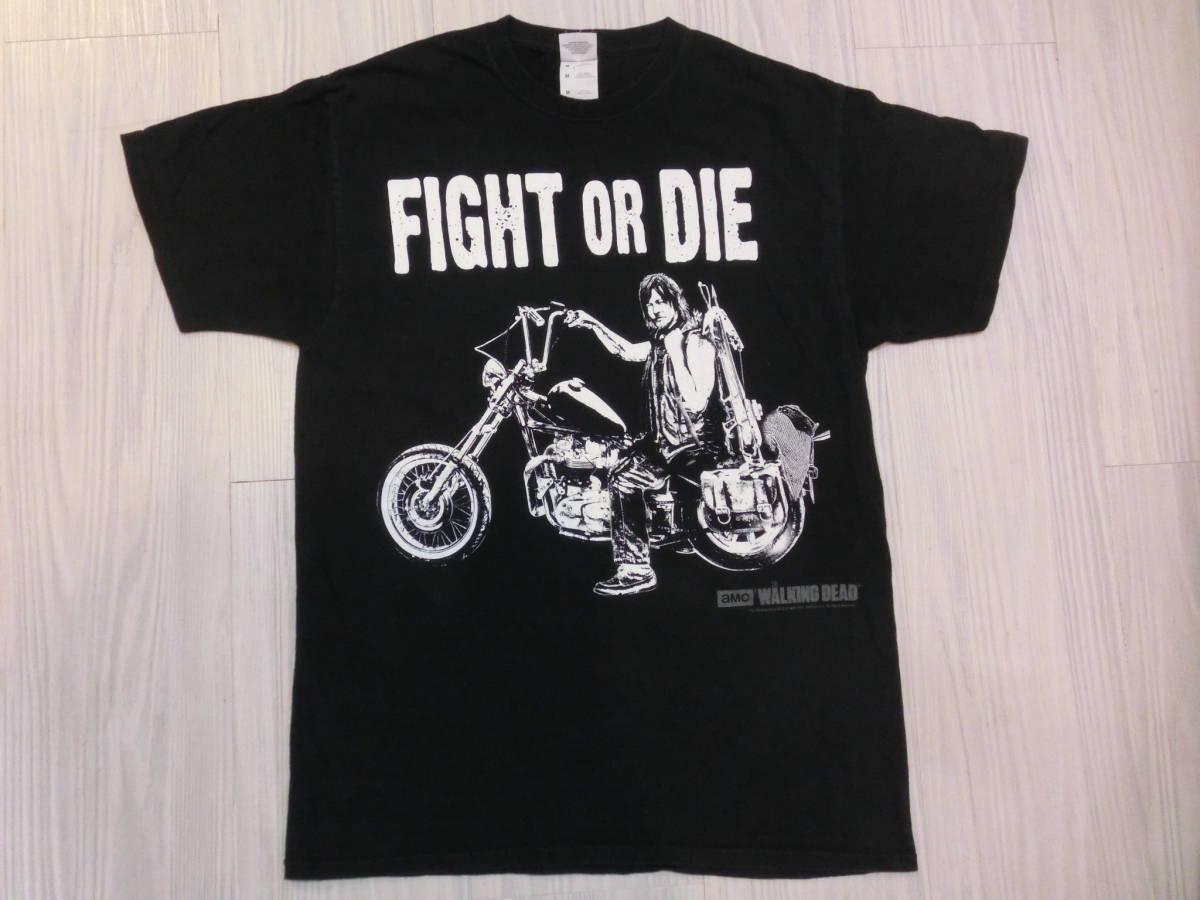 ウォーキング・デッド◆ダリル・ディクソン Tシャツ Mサイズ ノーマン・リーダス◆海外ドラマ THE WALKING DEAD Daryl Dixon