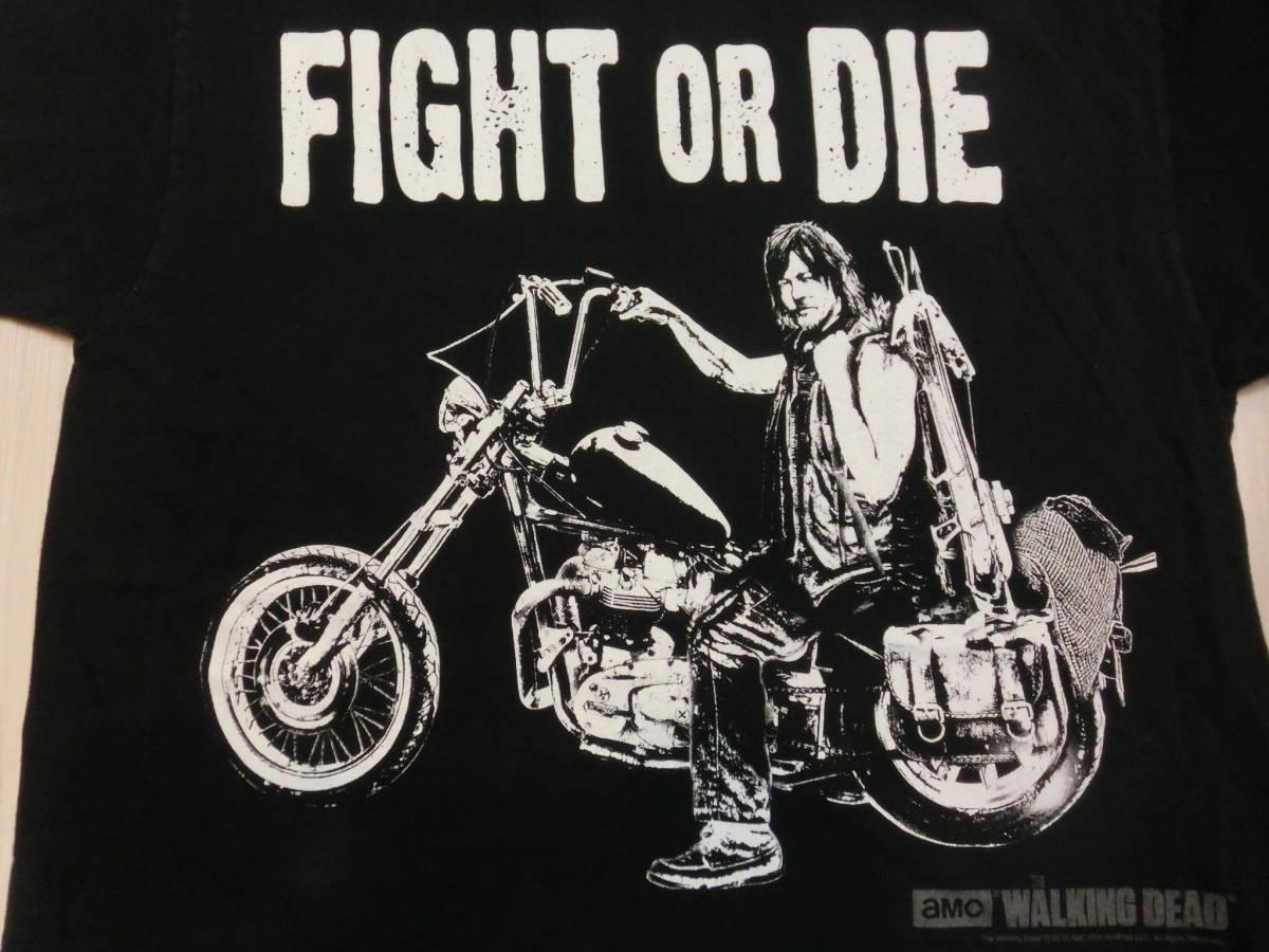ウォーキング・デッド◆ダリル・ディクソン Tシャツ Mサイズ ノーマン・リーダス◆海外ドラマ THE WALKING DEAD Daryl Dixon_画像3