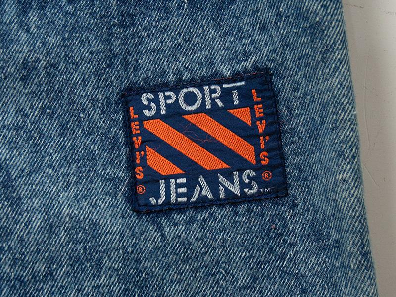 1990年代 デッドストック リーバイス ケミカル スポーツジーンズ LEVI'S SPORT JEANS_画像7