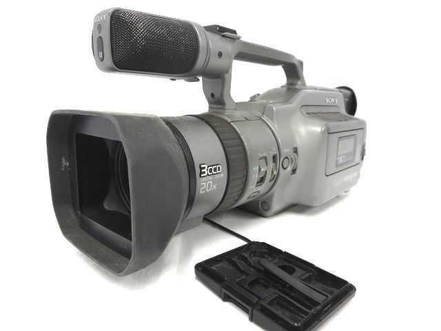 SONY ソニー DCR-VX1000 デジタル ハンディカム カメラ ジャンク 本体のみ 部品取り 008192-1 i17y