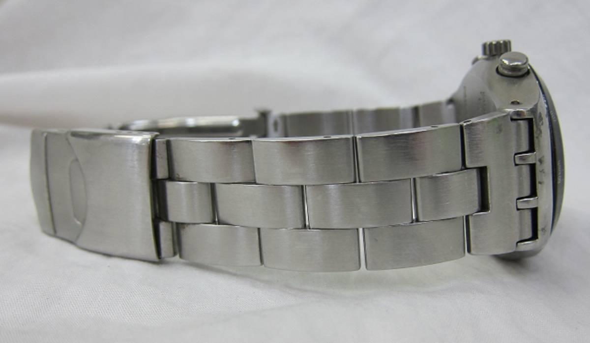 【中古・動作品/難あり】★★swatch IRONY クロノグラフ 腕時計★★SWISS MADE_画像7
