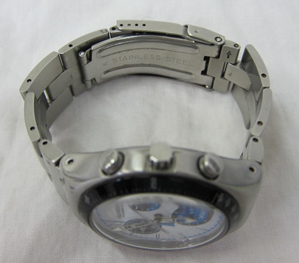 【中古・動作品/難あり】★★swatch IRONY クロノグラフ 腕時計★★SWISS MADE_画像10
