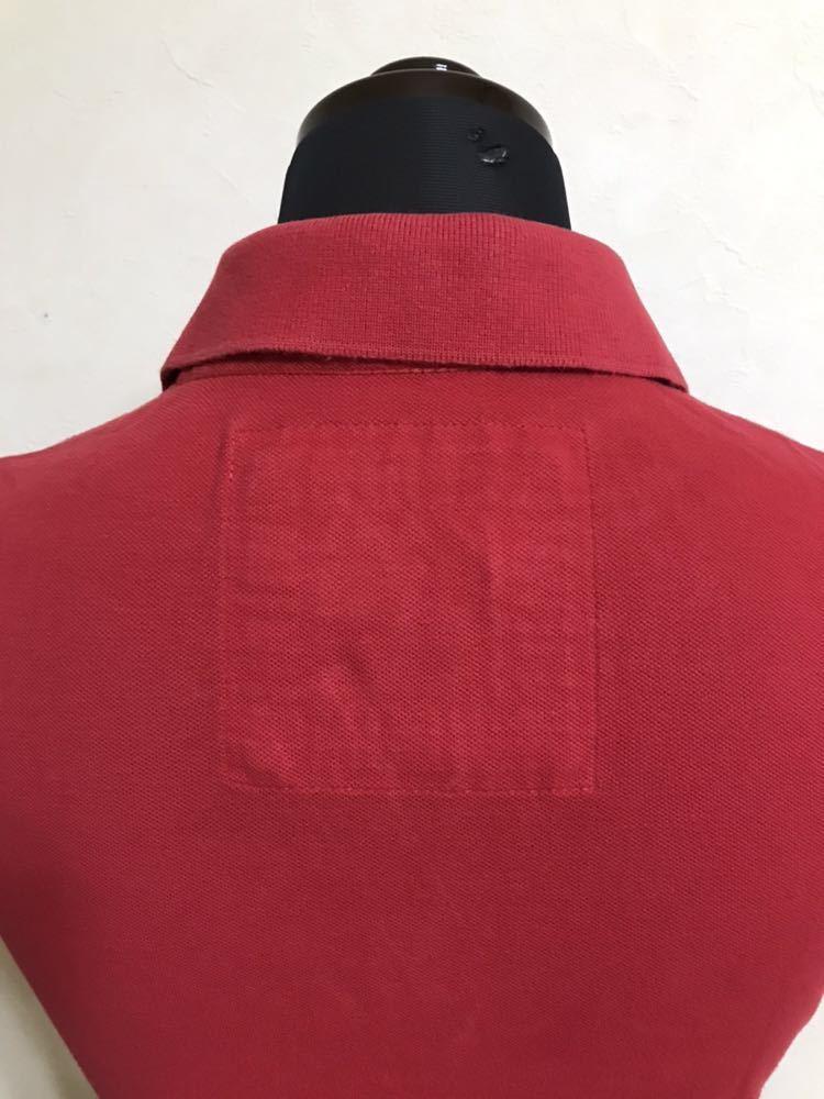 RUEHL No.925 ルールナンバー925 レディース 鹿の子 アイコン ポロシャツ サイズS 半袖 赤 フレンチブルドック_画像4