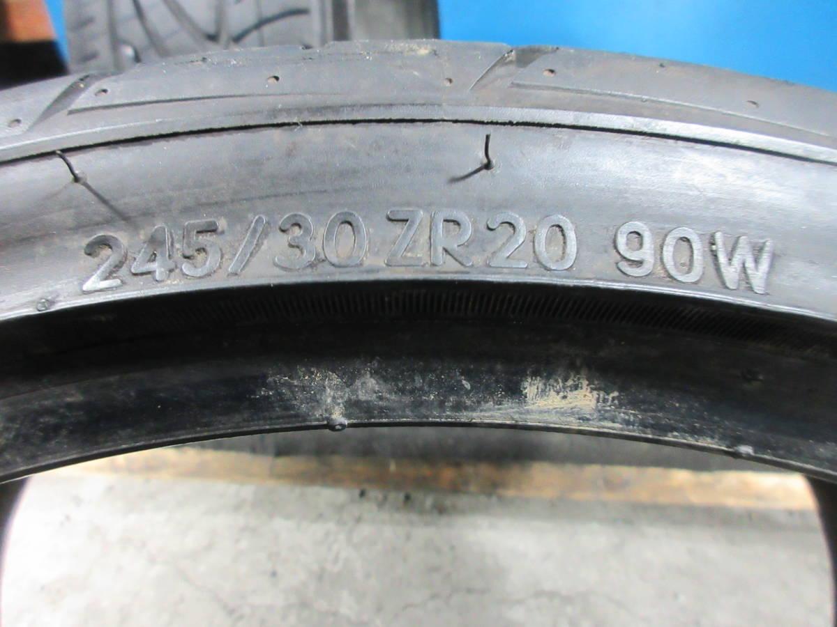 NITTO NEO テク GEN 245/30ZR20 2本セット №9328C 室内保管 オンロード 夏タイヤ _画像6