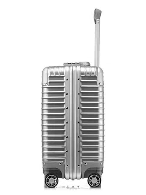限定版 小型アルミマグネシウム合金キャリーケース 機内持ち込み可スーツケース TSAロック搭載 ビジネス トラベルバッグ 18インチ_画像3