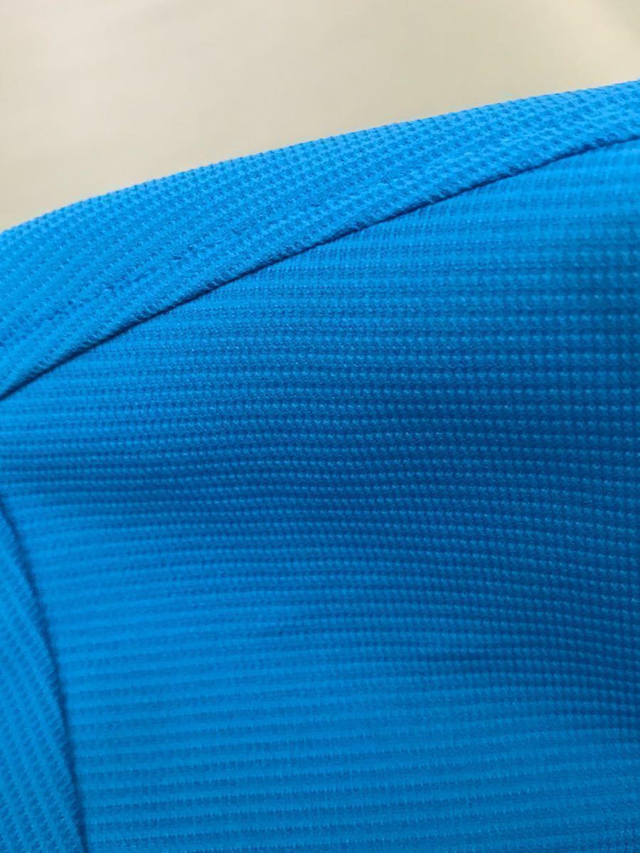 ルコック le coq sportif ルコックスポルティフ ドライポロシャツ メンズ 半袖 ゴルフウェアー LLサイズ ~◯_画像9