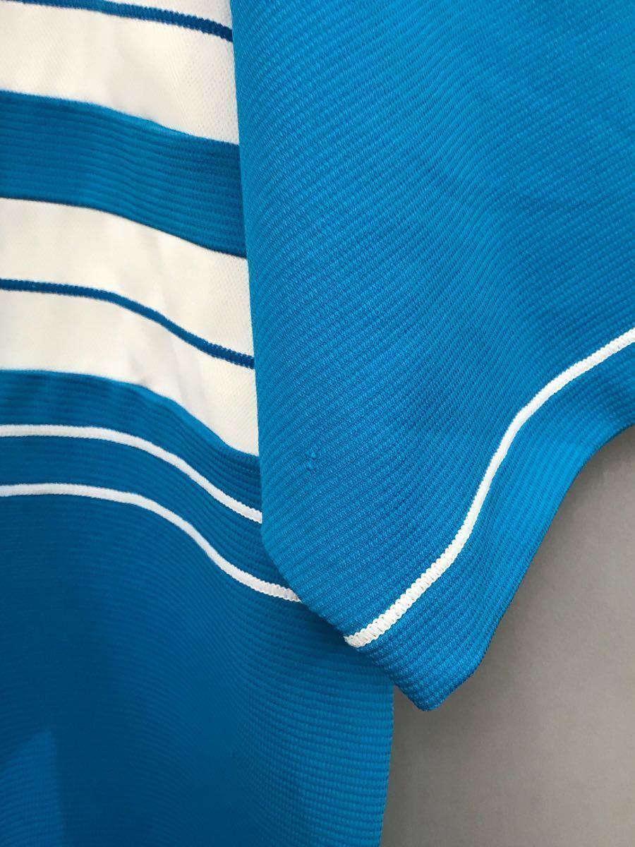 ルコック le coq sportif ルコックスポルティフ ドライポロシャツ メンズ 半袖 ゴルフウェアー LLサイズ ~◯_画像6