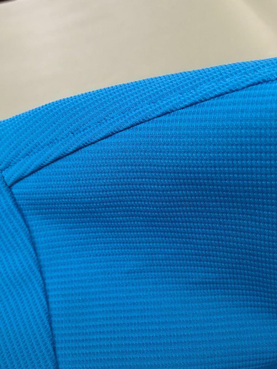 ルコック le coq sportif ルコックスポルティフ ドライポロシャツ メンズ 半袖 ゴルフウェアー LLサイズ ~◯_画像8