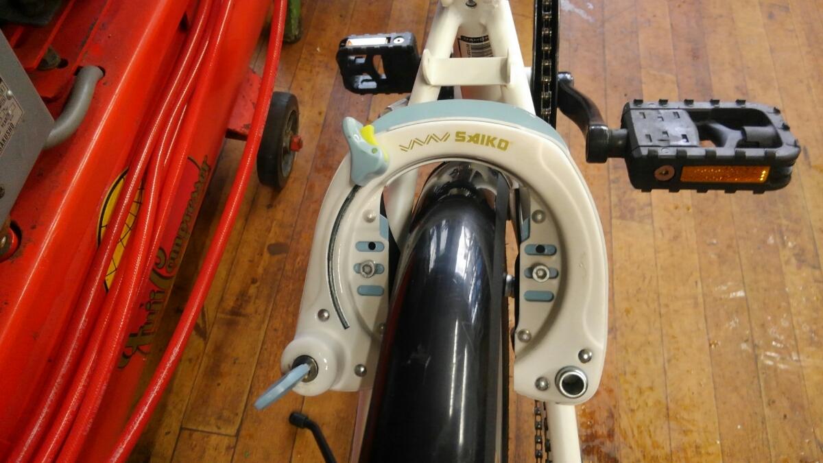 札幌 中古自転車 ダホン DAHON SUV D6 備済みです。_画像4