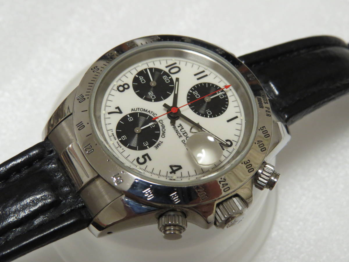 check out 0091c e4e75 激レアTUDOR チュードル クロノタイム 79280P PRINCE DATE表記 王冠リューズ裏蓋CASE BY ROLEX