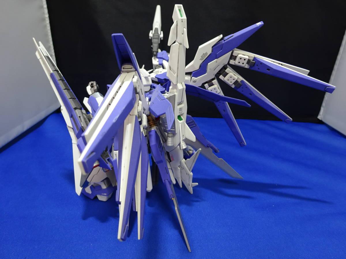 【完成品】バンダイ HG 1/144 Hi-μ GUNDAMU VRABE(アメイジングレウ゛A使用) 改修塗装済完成品_画像10
